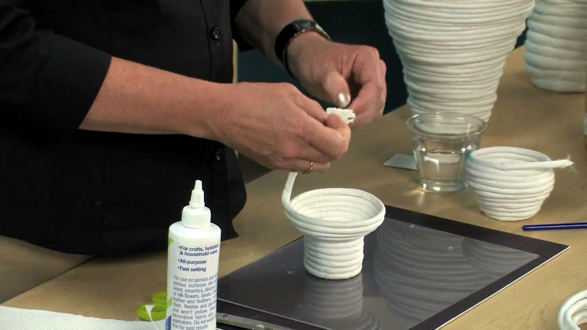 Paper Coil Baskets - Lesson Plan