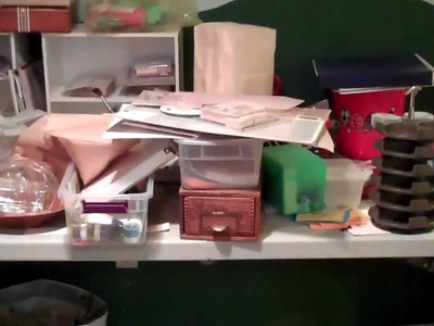 Part 2 - Organizing your scrapbooking & crafting space