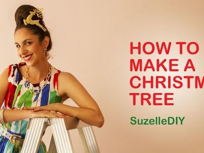 SuzelleDIY - How to Make a Christmas Tree