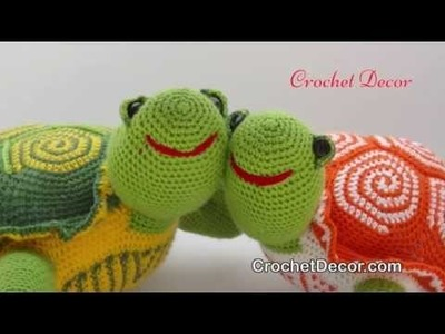 Turtle Crochet Toy Pattern - Amigurumi