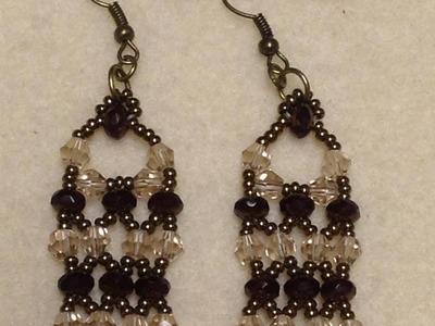 Victorian Lace Earrings Tutorial