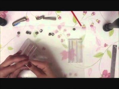 Watercolor Mosaic beads - Fimo tutorial.wmv