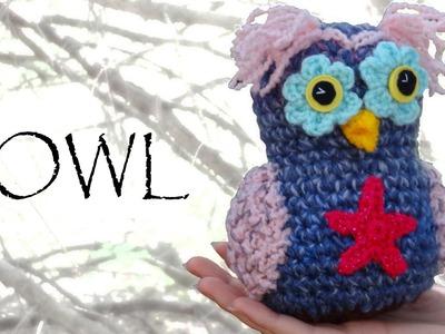 Whimsical Crochet Owl Tutorial - Crochet Along Pattern!