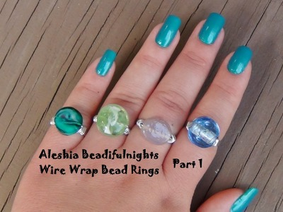Wire Wrap Bead Ring Wirework Tutorial Part 1
