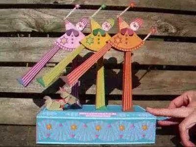 Automaton - papercraft - paper automata (canon Papercraft) - dutchpapergirl