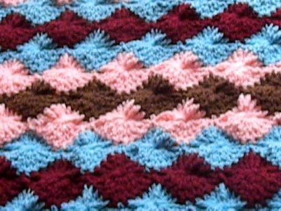 Beautiful crochet baby blanket 1