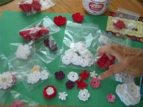 Beginner's Guide to Crochet Flowers for Paper Crafts, Cards, Scrapbooking