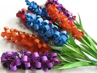 Create Pretty Paper Hyacinth Flowers - DIY Crafts - Guidecentral