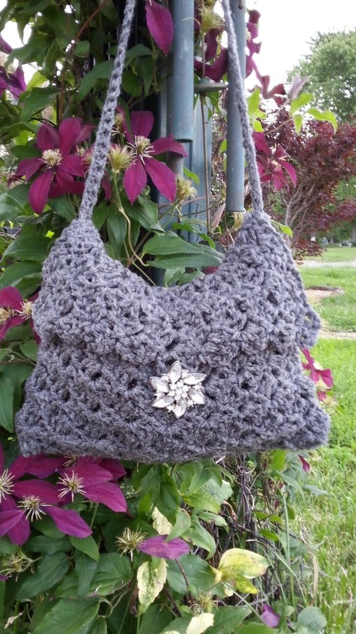 #Crochet Handbag Purse #TUTORIAL DIY purse DIY handbag Purse video