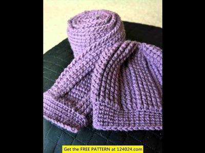 Crochet scarf patterns for men