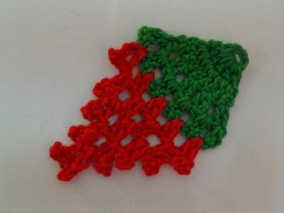 Crochet Strawberry Applique-1