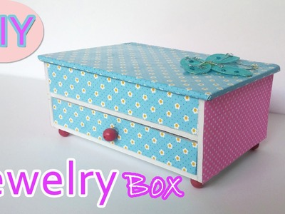 DIY Crafts - How to make a Jewelry box - Ana | DIY Crafts.