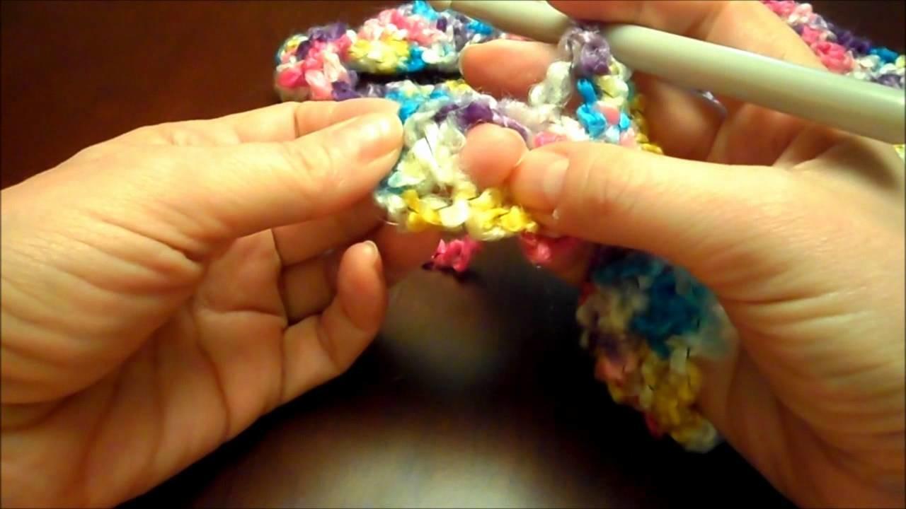DIY Easy Crocheted Baby Blanket