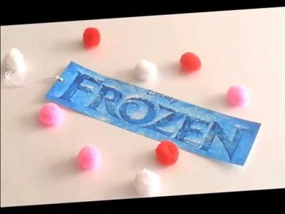 {DIY} Frozen Inspired Bookmark