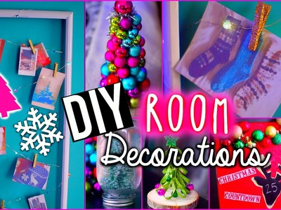 DIY Holiday Room Decorations