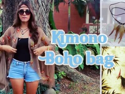 DIY Kimono and Boho bag with Chloe Harris