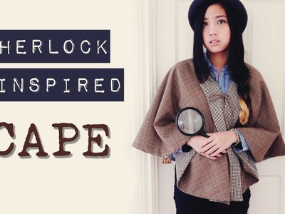 DIY ✂ Sherlock Inspired Reversible Cape