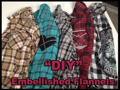 DIY Upcycle your old flannel!!!