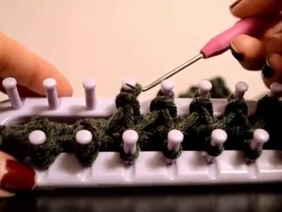 FASTEST WAY to Cast.Bind Off on a Knitting Loom