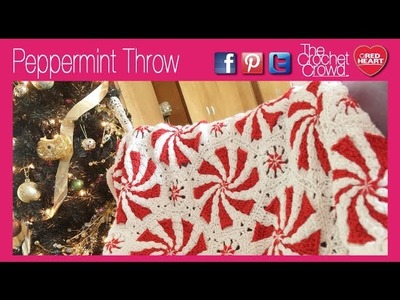 How To Crochet Peppermint Throw