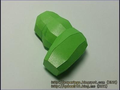 How to make Lego Hulk Papercraft - 2. Arm #2.2