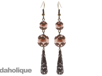 Instructions for Making the Vintage Parlor Earring Kit