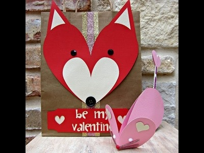 Make Animal Shaped Valentines with American Crafts