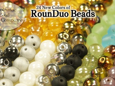 New RounDuo Bead Colors March 2015