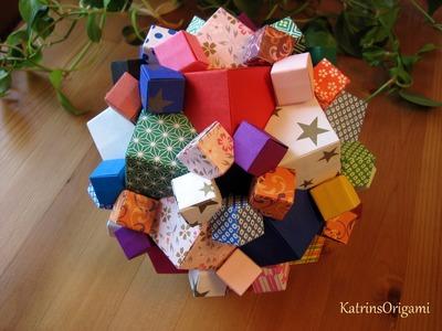 Origami ♣ Columbus Cube ♣