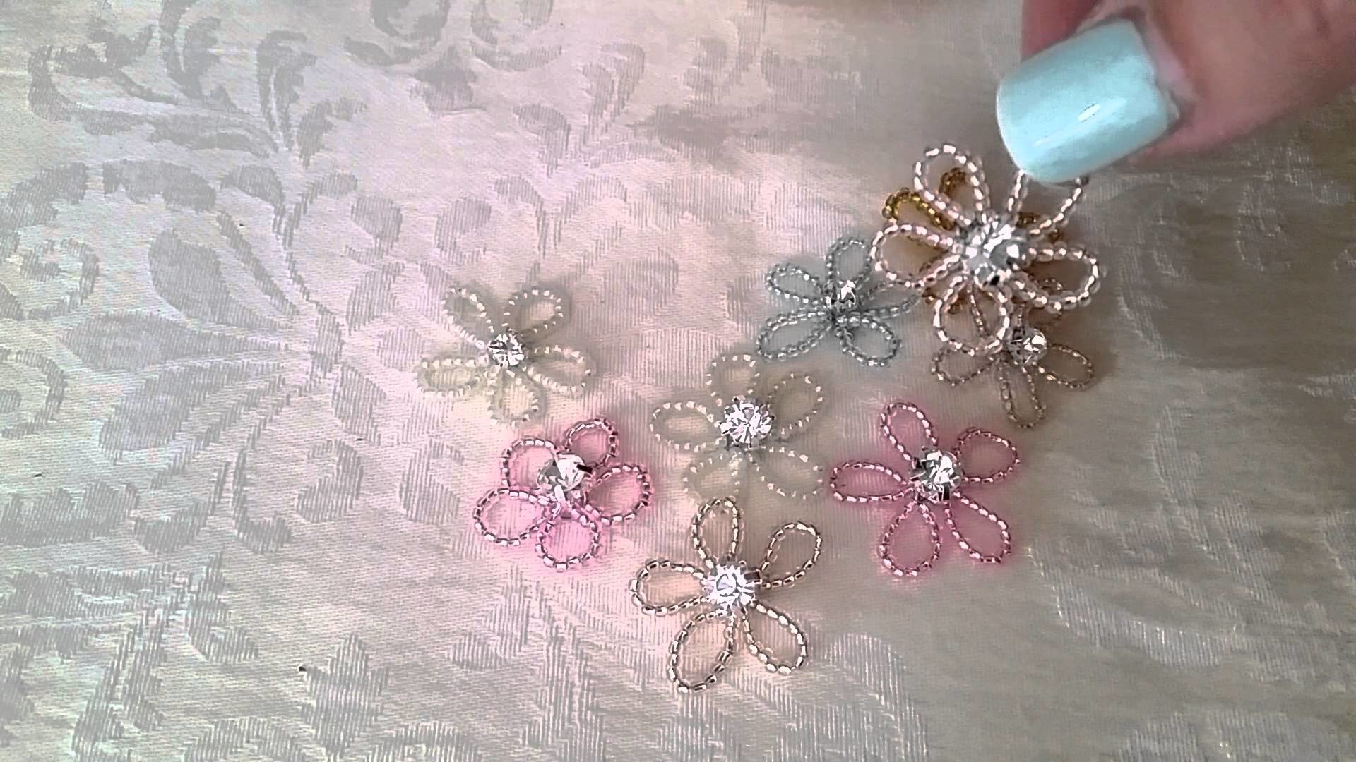 Seed Beads! Flowers and Butterflies