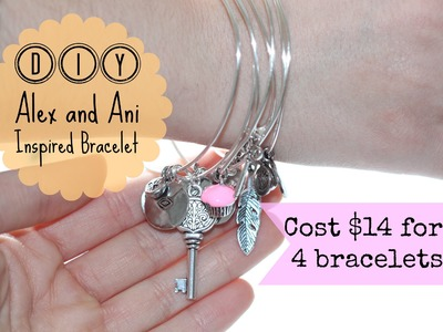 DIY Alex and Ani Inspired Bracelet