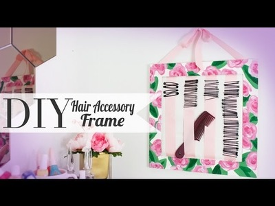 DIY Hair Pin Accessory Holder {CutePolish} - ANNEORSHINE