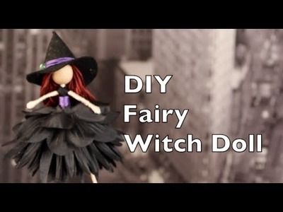 DIY Halloween Decorations | Witch Fairy Doll Tutorial