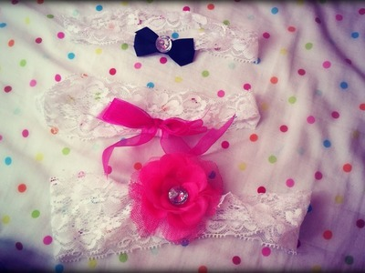 Easy DIY Lace Headband Tutorial. CUTE FOR BABIES and KIDS