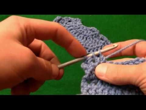 How To Crochet 2  Together Decrease-Left Handed