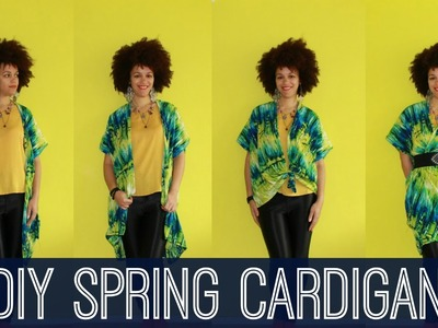 How To Make a DIY Spring Vest in 5 min   DIY Clothes