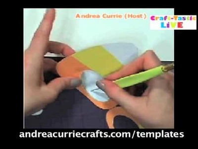 How To Make A Halloween Mask Special! Andrea Currie Crafts