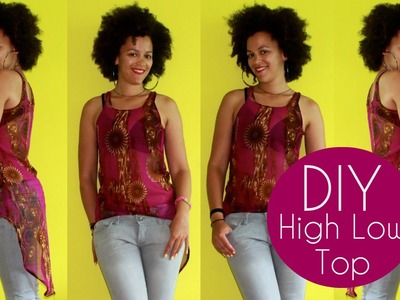 How To Make a High Low Top | Sewing For Beginners