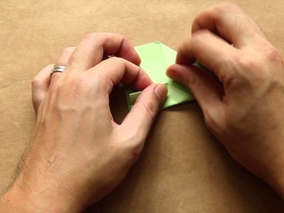 Simple Origami For Kids - Jumping Frog