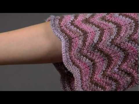 #17 Ripple Pattern Cardigan, Vogue Knitting Spring.Summer 2009
