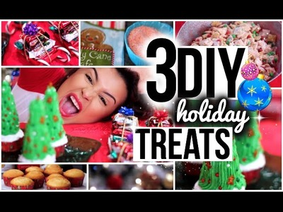 3 Easy DIY Holiday Treat Ideas! #amariechristmas