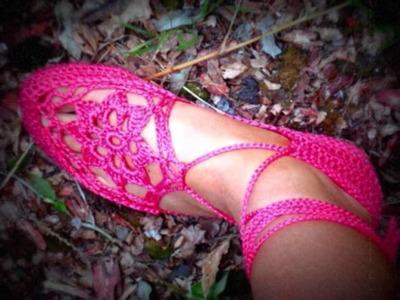 CROCHET SHOES NEW.wmv   www.facebook.com.crochetshoes