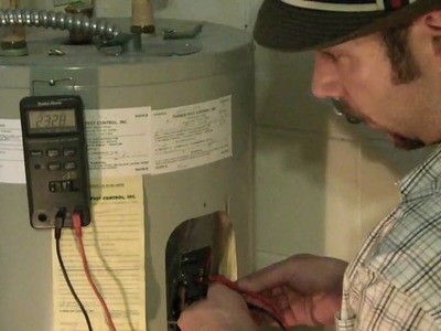 Hot Water heater timer to save electric. DIY green project