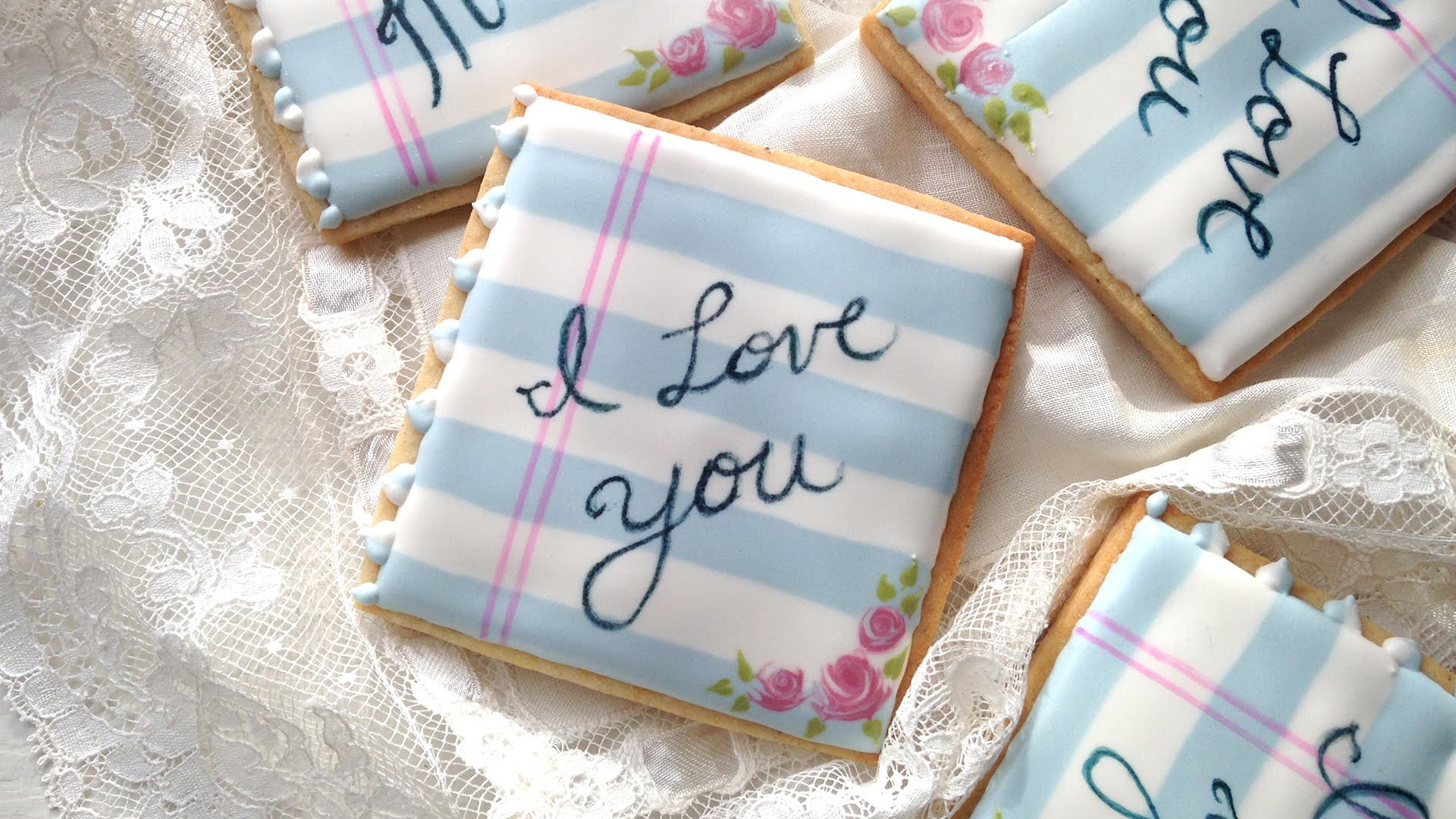 How To Decorate Love Note Cookies For Valentine's Day!
