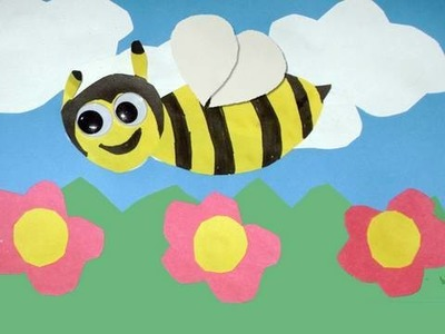 How to make Spring Bee Card - EP
