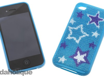 How to Stitch a Beadle Point Cell Phone Case