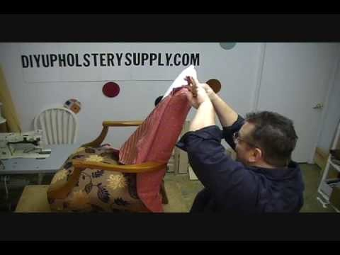 How to Upholster a Chair Chapter 4