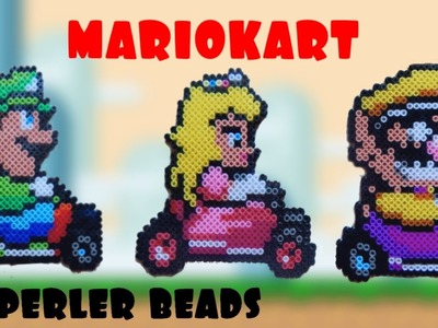MARIO KART in Perler Beads |Ideas and inspiration