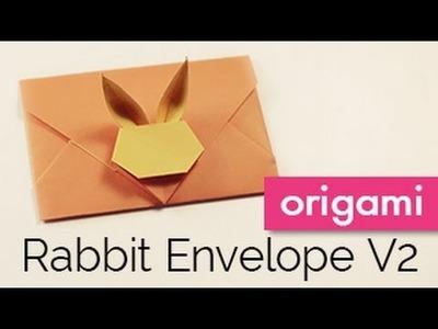Origami Bunny Rabbit Envelope V2