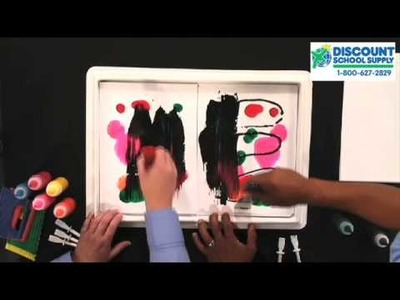 Resist Art, Arts & Crafts with Biocolor from Discount School Supply